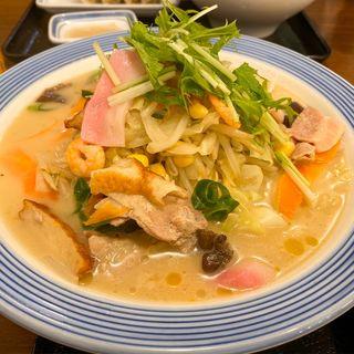 野菜たっぷりちゃんぽん(リンガーハット 横須賀久里浜店)