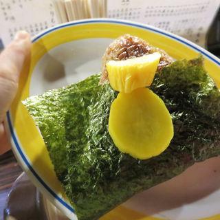 焼きおにぎり(焼鳥弁慶 西新店)