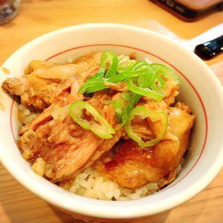 限定品 豚テール丼(小麦と肉 桃の木 )