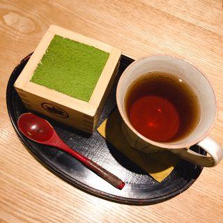 抹茶ティラミス(もみじ茶屋 御成通り)