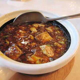四川式麻婆豆腐セット(中華菜館 五福)