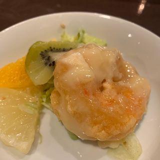 大エビのマヨネーズソース(雅苑酒家 本店 (ガエンシュカ))