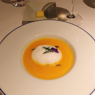 かぼちゃのスープ(ドゥ ミル (deuxmil))