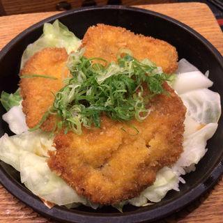 三元豚しみカツ炒飯(石焼炒飯店 ララガーデン長町店)