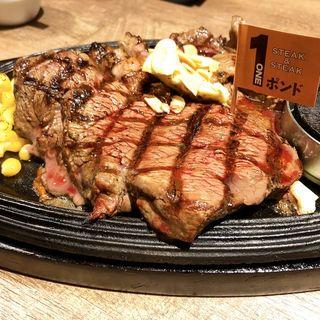 ステーキ(steak&steak)