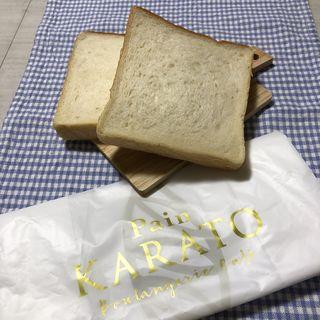 角食パン1斤(Pain KARATO Boulangerie Cafe)