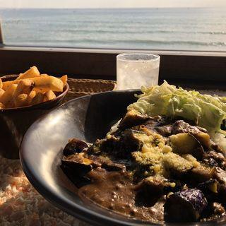 ナスとひき肉のカレー(珊瑚礁 モアナマカイ店)