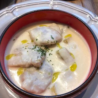鶏肉と焼き野菜のクリームシチュー(メゾンカイザーTable 渋谷ヒカリエ店)