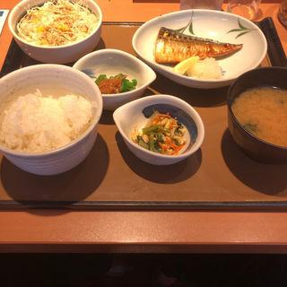 焼き魚定食(やよい軒 上本町店 )