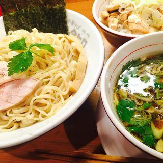 ザハハ鶏つけそば(醤油・大盛り)(ムタヒロ 大阪福島店 )