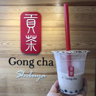 タピオカミルクティ(Gongcha スペイン坂店)