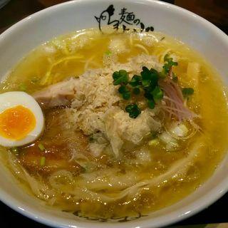 鶏塩らーめん(麺のようじ (【旧店名】大阪拳))