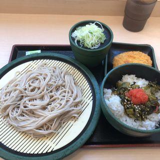 ミニ高菜ごはんセット(ゆで太郎 錦町店 )