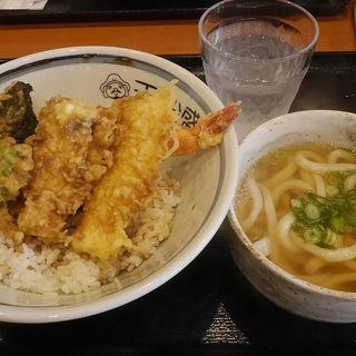 天丼セット(手作りうどん 天粉盛)
