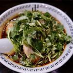 スパイス・パクチーラー麺(玉子入り)