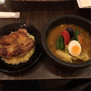 kanako'sチキングリルonライス(kanakoのスープカレー屋さん 仙台一番町店)