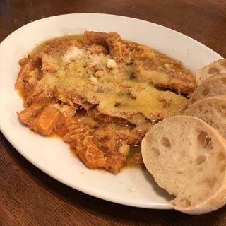 トリッパのトマト煮込み(オステリア メグロ (OSTERIA MEGURO))