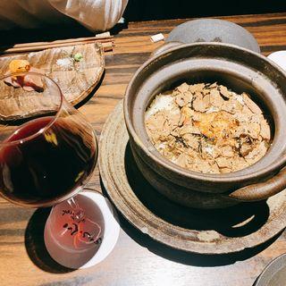 フォアグラと黒トリュフの土鍋ご飯(吉祥寺 三うら )