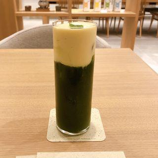 CHEESE TEA (抹茶 x ゆず x とうもろこし)(ocha room ashita)