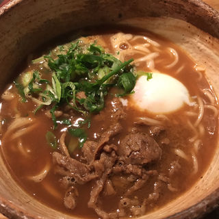 牛煮込みカレーうどん(山長 大手町店 (ヤマチョウ))