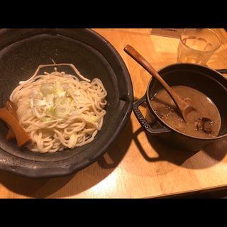 もつつけ麺(1.5玉)(北野坂 奥 )