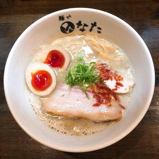 海老香る鶏白湯みそらーめん(麺や ひなた)