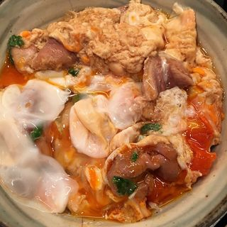 特上親子丼(鳥つね自然洞 (とりつねしぜんどう))