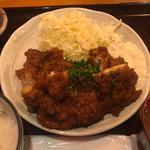 鶏漬け南蛮定食