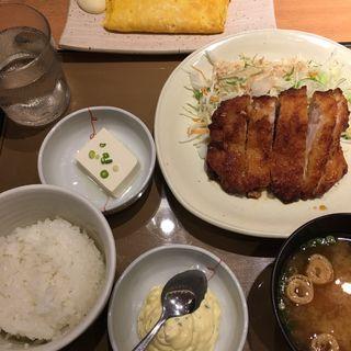 チキン南蛮定食・玉子焼き(やよい軒 鳥栖店 )