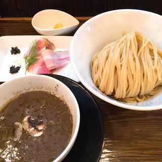 晩秋のシャンピニオンつけ麺〜トリュフの香りを添えて〜(金彩〜KinIro〜)