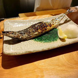 秋刀魚の塩焼き(南渋谷 なみの上)