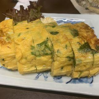 玉子焼き(三つ葉入)(ぎょうざ亭たしろ )