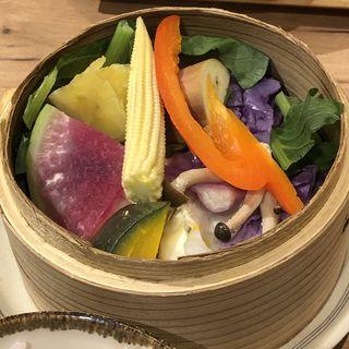 季節の野菜せいろ(膳や musi-vege+ 阪急三番街店)