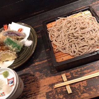 天ぷら蕎麦(青山 川上庵 (あおやま かわかみあん))