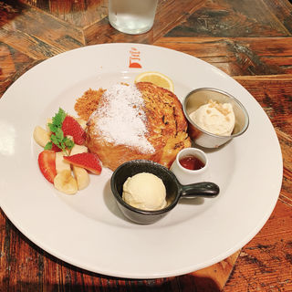 FTFクラシックトースト(ザ・フレンチトースト ファクトリー 武蔵小杉店 (The French Toast Factory))