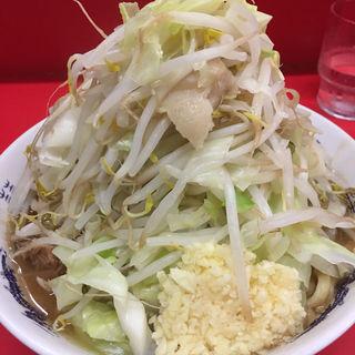 小ラーメン野菜ニンニク(ラーメン二郎 松戸駅前店 (らーめんじろう))