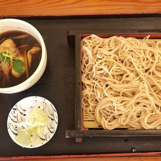 牡蠣せいろ蕎麦(富士見屋)