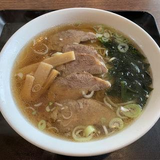 叉焼湯麺(中国料理 彩鳳 )
