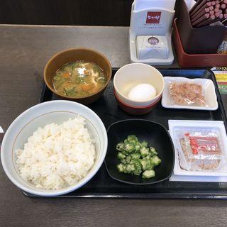朝まぜごはん納豆定食(なか卯 祖師ヶ谷大蔵店 )