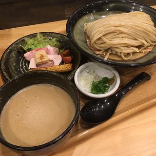 三河赤鶏と魚介の濃厚つけ麺(麺家幸先坂)