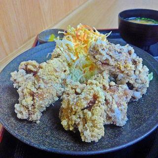 大盛唐揚定食(金成パーキングエリア(上り線)スナックコーナー )