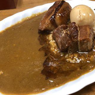 豚角煮カレー(ジャンカレー 末広町店 )
