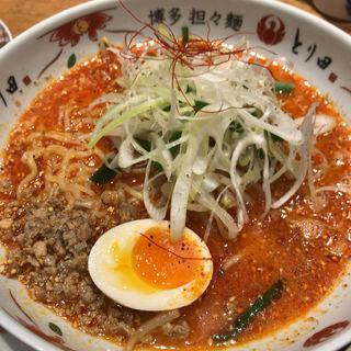特製博多担々麺(博多担々麺 とり田 KITTE博多店)