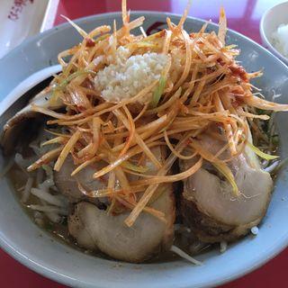 ネギみそチャーシュー麺(くるまやラーメン 茂原店 )