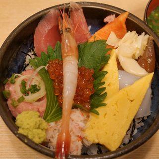 上海鮮丼(まぐろ市場 新橋銀座口店 )