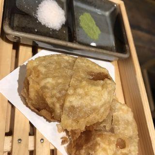 おでんの大根なのに天婦羅(鮨・酒・肴 杉玉 阿佐ヶ谷)