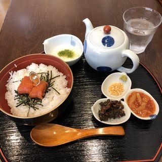 明太子茶漬けセット(味の明太子 ふくや 太宰府店)