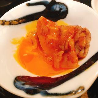 サーロインのすき焼き(卵一口ライス付き)(うしごろ 貫 恵比寿本店 )