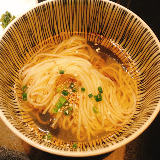 冷麺(うしごろ 貫 恵比寿本店 )