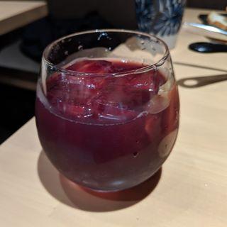 シナモンとジンジャーのサングリア風(酒とおいしい飯 エナジーホール)
